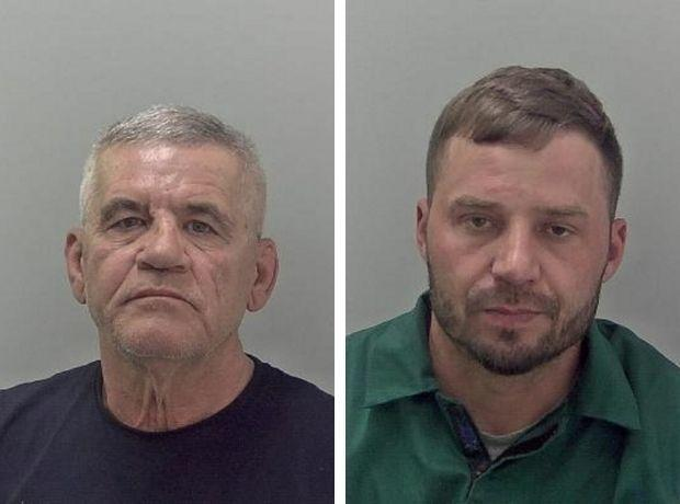 JAILED: Remus Turturica and Marius Nitu
