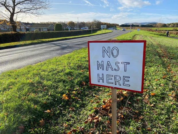 Kidderminster Shuttle: Dunley Road residents say the 20-metre-high mast would be a blot on the landscape