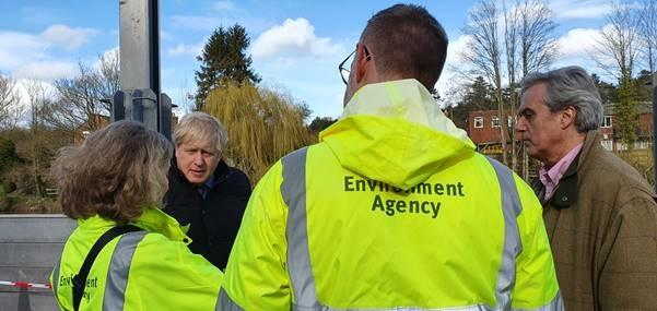 "Kidderminster Shuttle: Prime Minister Boris Johnson visited the town in March and promised to ""get Bewdley done"""