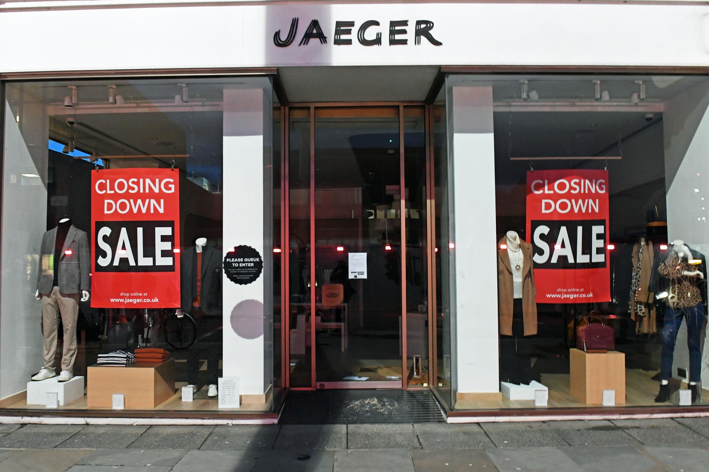 Jaeger To Axe 103 Jobs And Shut 13 Shops Kidderminster Shuttle