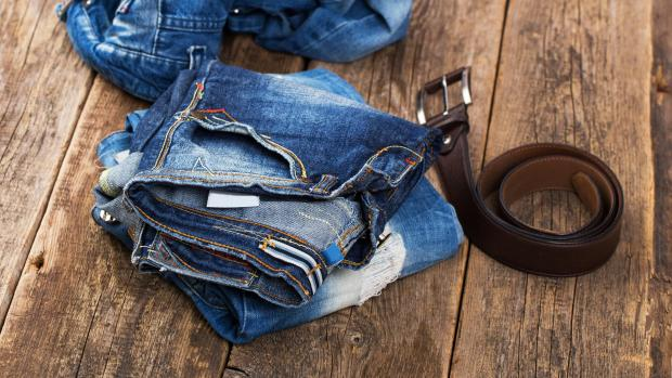 Kidderminster Shuttle: A good pair of jeans doesn't need to be washed very often, but if they start to smell or feel loose and slouchy, it might be time to clean them. Credit: Getty Images / kozyrskyi