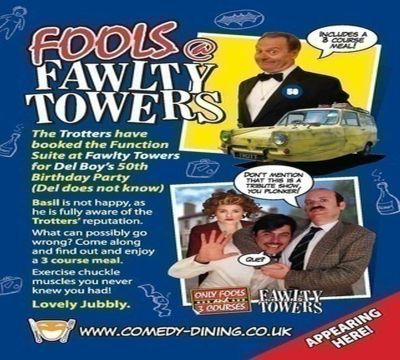 Fools @ Fawlty Towers 07/05/2021 Gloucester