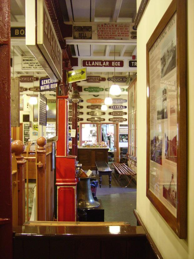 Kidderminster Shuttle: Inside Kidderminster Railway Museum