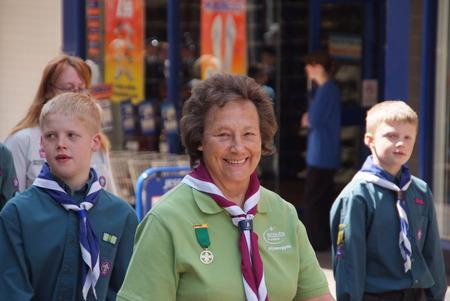 The 15th Kidderminster Scouts Support the Mayor's Parade