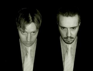 Electronic duo: James Hardiman and Matthew Stephens of The Audacity.