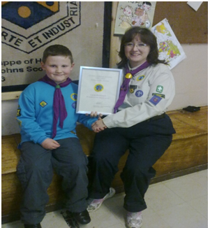 Beaver Scouting Celebrating 25 Years with a new District Badge