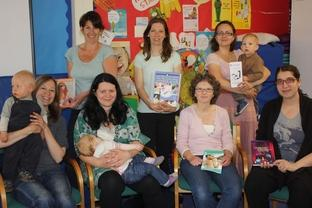 Mothers' meeting: Members of the La Leche League Group.
