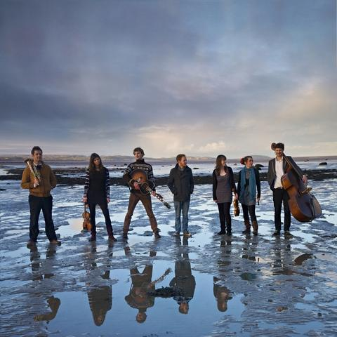 Folk with a twist: Seven-piece band The Old Dance School play two gigs this weekend.
