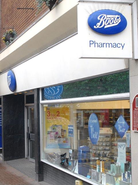 Relocating: Boots in kidderminster.