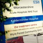 Under threat: Kidderminster Hospital could be closed under options being considered by NHS Worcestershire. Buy this photo 251269L.