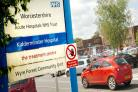 Decision delay: Kidderminster Hospital. Buy this photo 251269L.