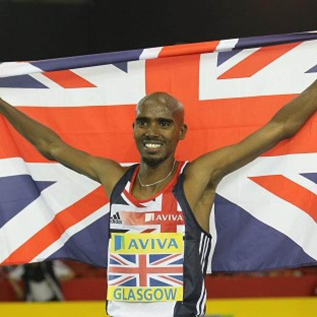 Great Britain's Mo Farah was in dominant form in Helsinki