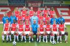 Harriers squad for the 2012-13 season in the Blue Square Bet Premier. Picture: MIRIAM BALFRY