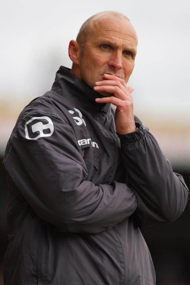 Burr laments lethargic Harriers