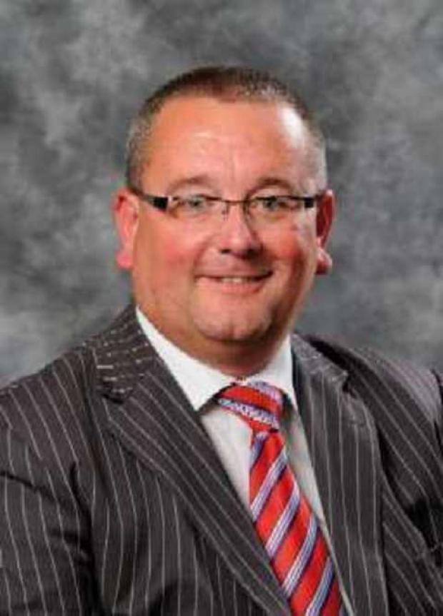 District council chairman Stephen Clee.
