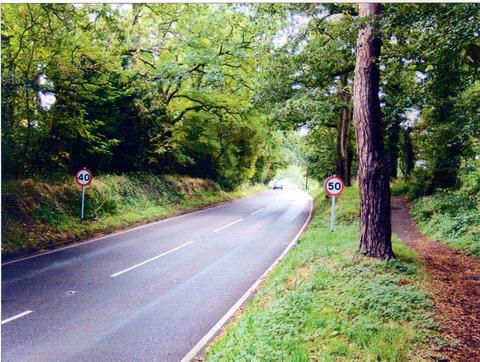 Which one?: Bewdley drivers were left guessing the speed limit in Habberley Road.