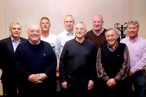 Harriers legends at KHIST'S Trophy re-run.