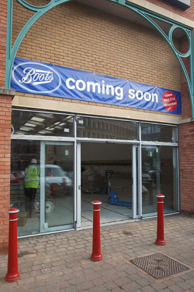 On the move: Boots will be moving to the former Brantano store in Kidderminster.
