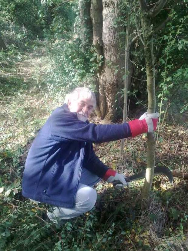 David Owen, St Wulstan's volunteer
