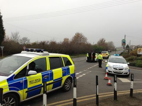 Kidderminster Shuttle: A449 at the junction of Stanklyn Lane and Summerfield Lane closed.