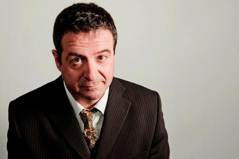 Award-winning comedian Mark Thomas