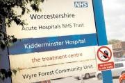Under threat?: Kidderminster Hospital.