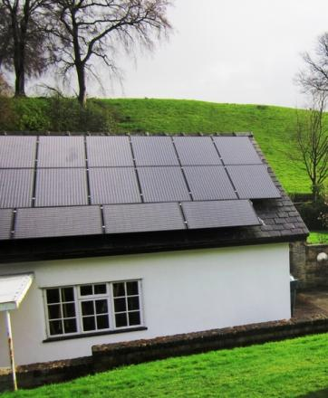 insulation and solar panels are both eligible under the Green Deal.