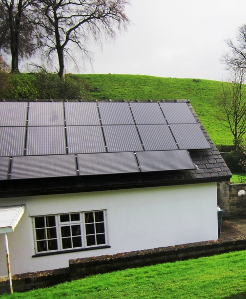 insulation and solar panels are both eligible under the Green
