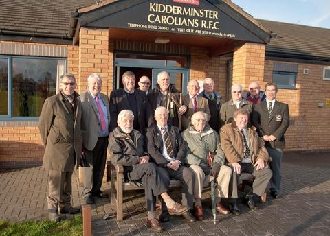 Club of the Year: Kidderminster Carolians RFC past presidents will be savouring the club's success.
