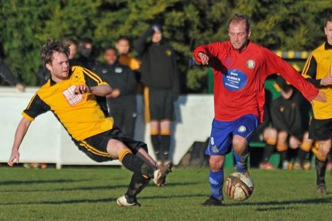 Action from Swifts' win over Continental. Picture: JOE TURNER