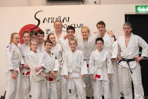 Gold standard: Samurai's A side won gold at the club's Open Club Team Championships.