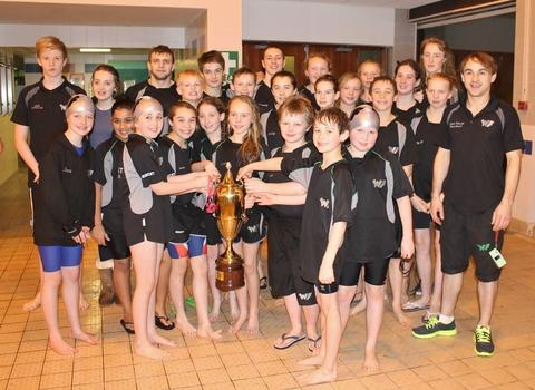 Success: Wyre Forest swimmers performed well at the Rugby Open.