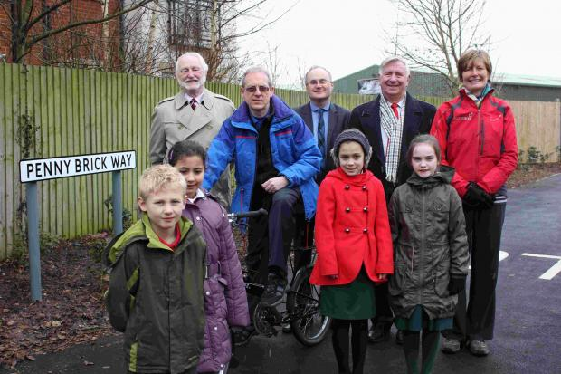 Celebrating 'Penny Brick Way'