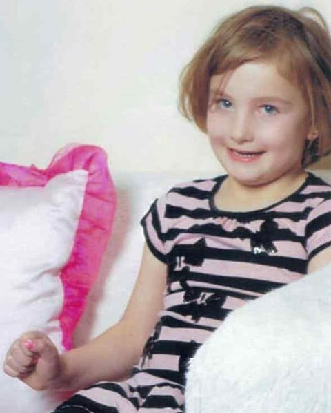 'Tragic death': Six-year-old Imie Harrison who died after falling into a canal in Kidderminster.