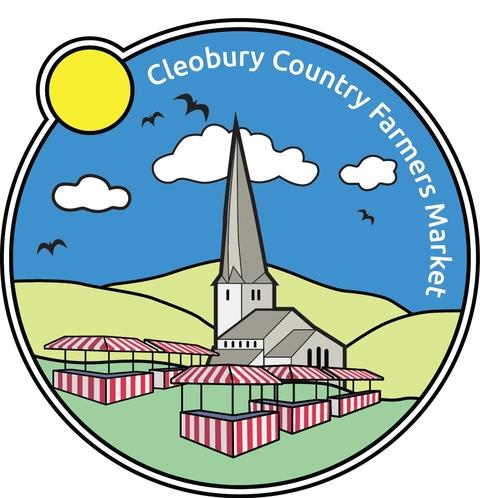 Brand new: The Cleobury Country Farmers Market logo.