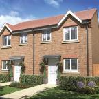 An artist's impression of the three-bedroom Woodgate by Taylor Wimpey.