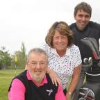 Clubbing together: John Gaskell, Angela Gaskell and Dave Pain, of Cleobury Mortimer Golf Club, appeal for golfers.