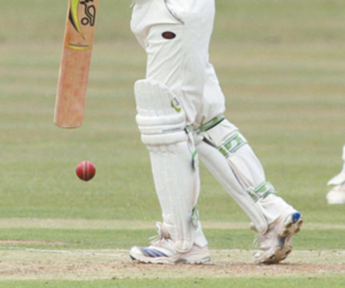 County level with Hampshire at top after visitors play out draw