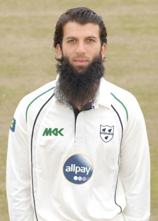 MOEEN ALI: Scored a century for Worcestershire.