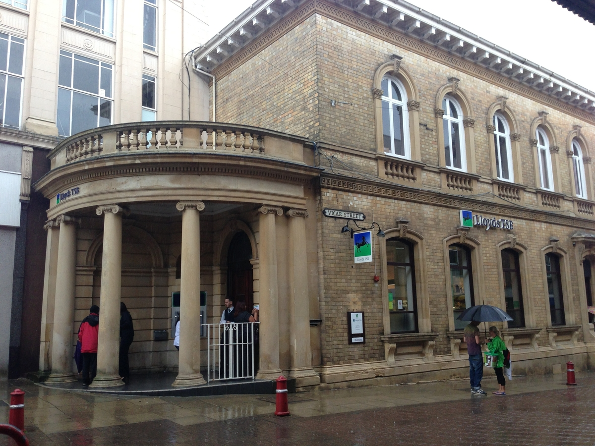 Storms cause flooding and closure of Kidderminster bank