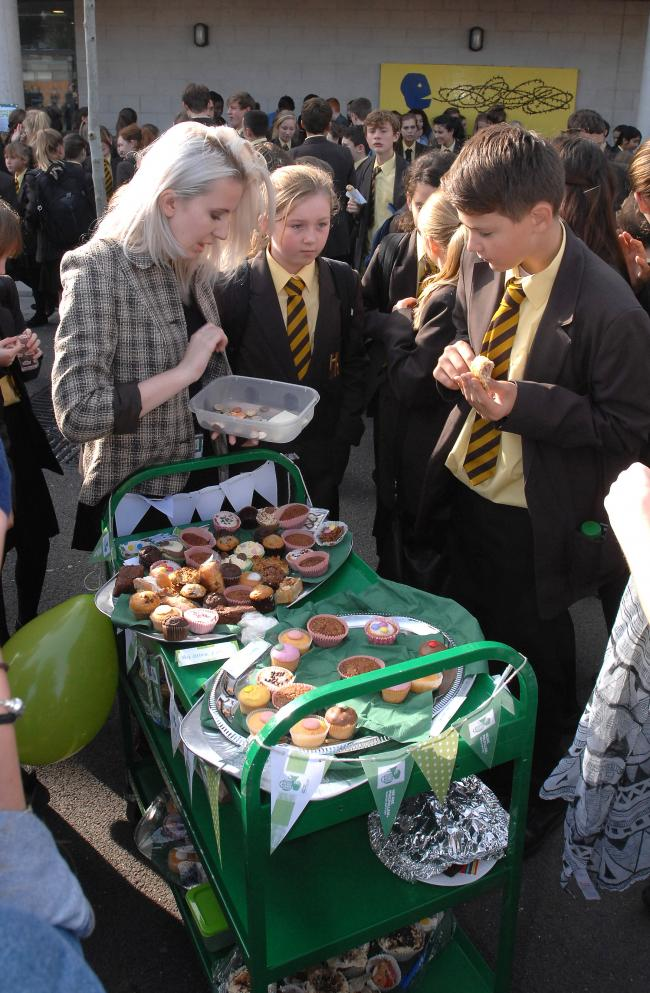 Student cake sales raise £750 for Macmillan Cancer Trust