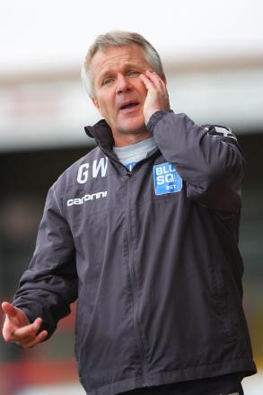 Manager Gary Whild is looking for his first win as boss.