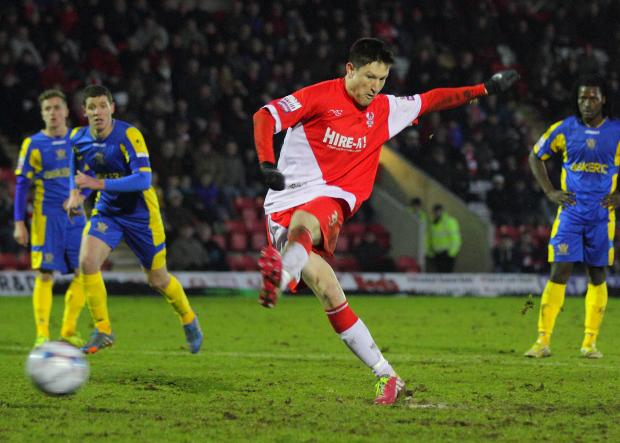 New Terrier: Joe Lolley has signed for Huddersfield Town. Picture: ADRIAN HOSKINS
