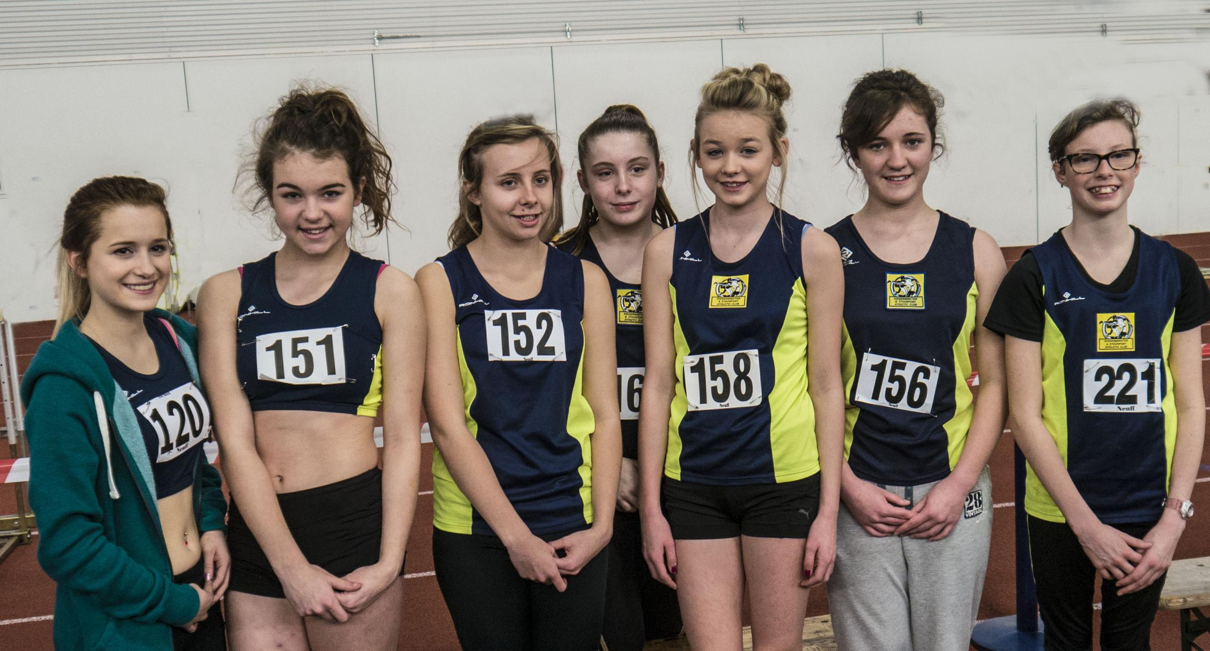 Top stars: Juniors from Kidderminster and Stourport AC
