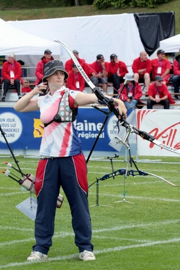 Kidderminster Shuttle: Archery: Naomi Folkard