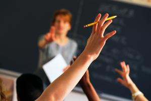 School rubbishes hand raising ban claims