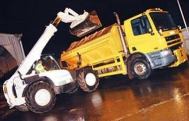 Gritters on standby as more rain expected for Wyre Forest