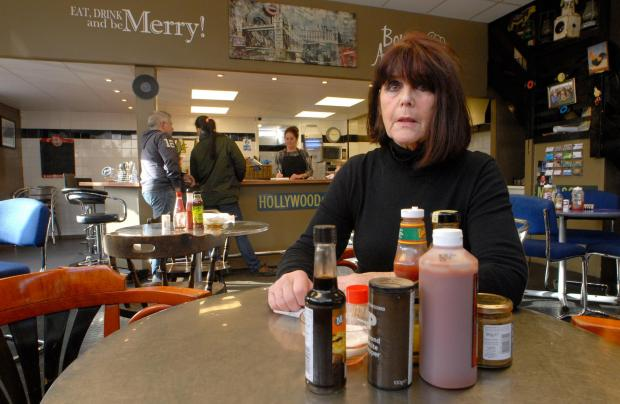 BUSINESS CONCERN: AJ's Diner co-owner Mary Poulton says she does not know what will happen to her 24-year-old thriving business. Picture: Phil Loach. 061433L.