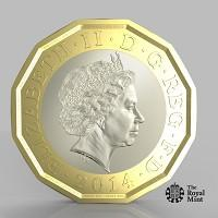 Kidderminster Shuttle: The new one pound coin announced by the Government will be the most secure coin in circulation in the world (HM Treasury/PA)