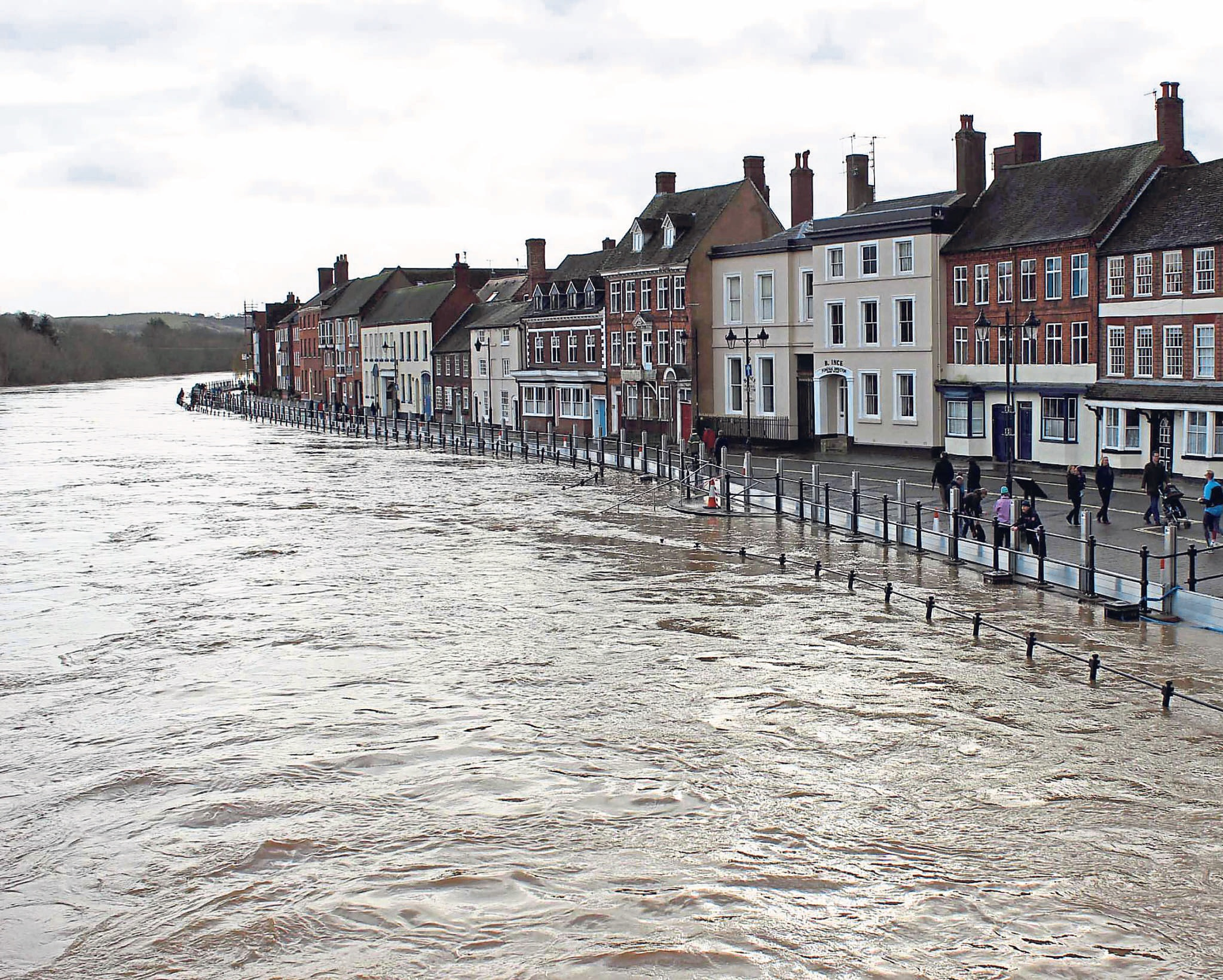 FUNDING BOOST: Flood-hit businesses, including Bewdley ones, can apply for grant money to help them get back on track.